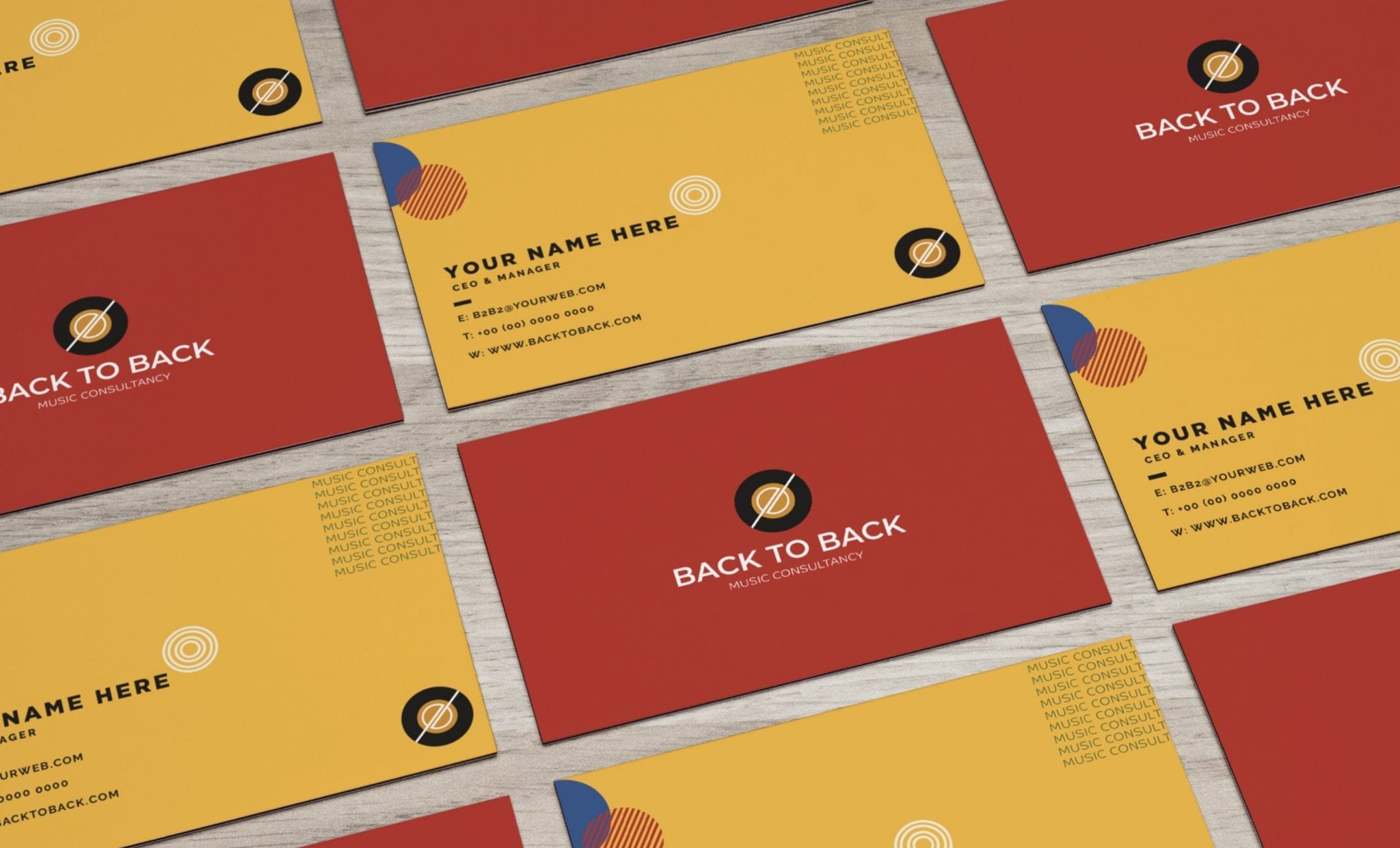 Back to Back Branding Guidelines11