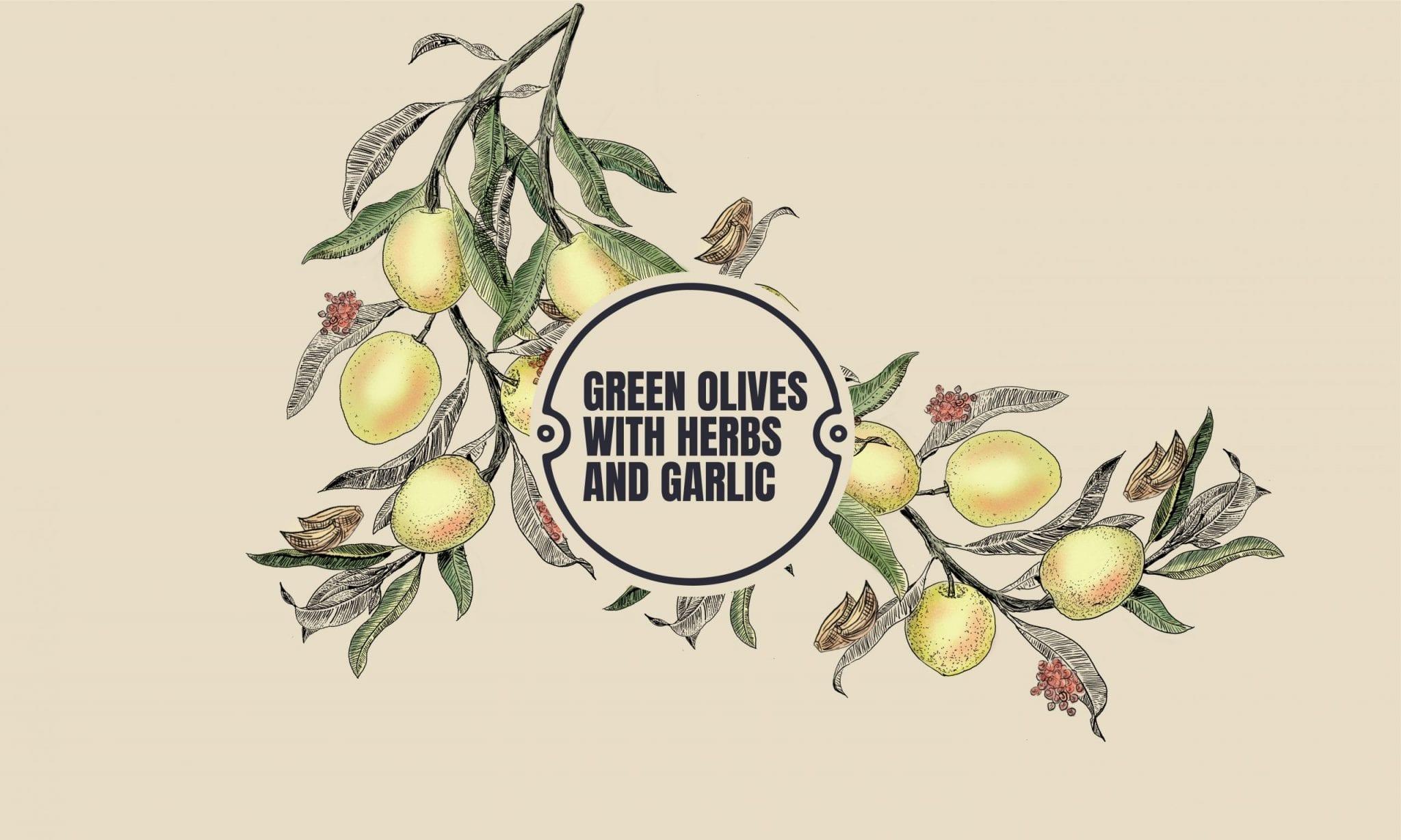 green w: herbs